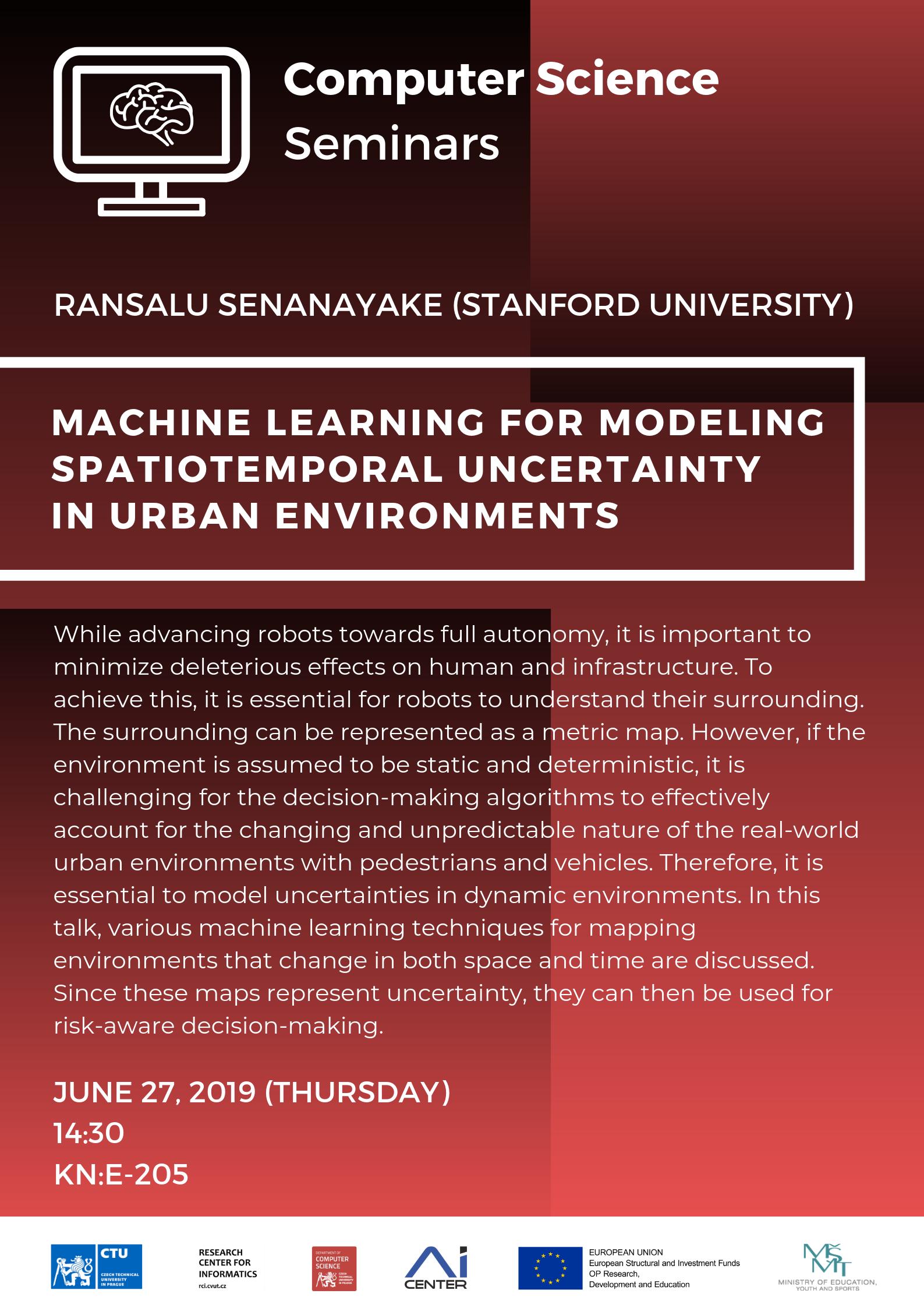 cs seminar – r  senanayake (stanford university)