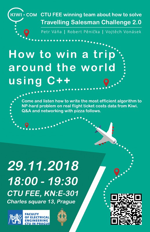 How to win a trip around the world using C ++