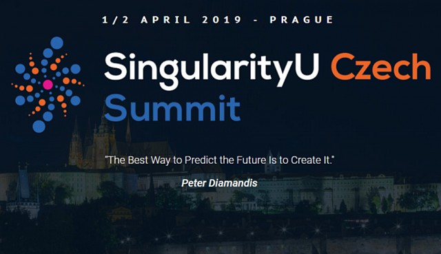 Vilo Lisý will give a talk at the SingularityU Czech Summit 2019