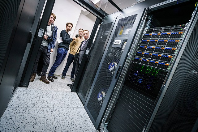 The most powerful cluster for AI research in the Czech Republic