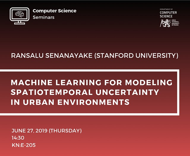 CS SEMINAR – R. SENANAYAKE (STANFORD UNIVERSITY)