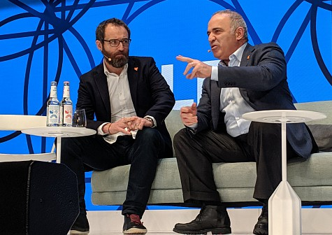 G. Kasparov at DLD 2020